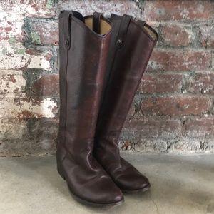 Dark brown Melissa Frye Boots